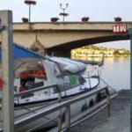 Postój na rzece Mosela Francja