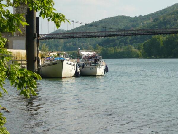 cumowanie na rzece