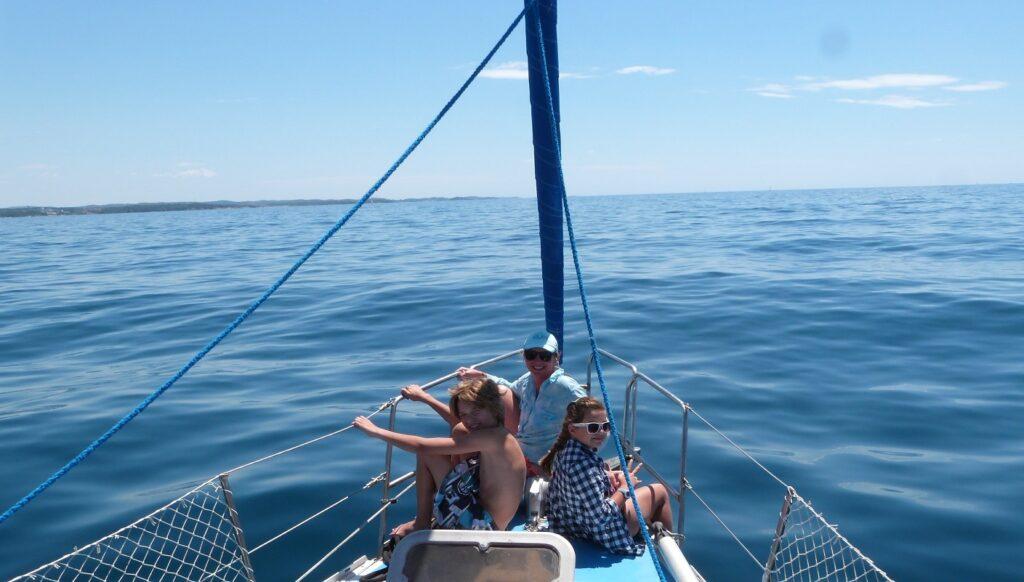 razem na jacht
